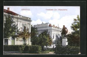 AK Belgrade, Monument D. Obradovich
