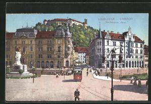 AK Ljubljana / Laibach, Stritarjeva ulica