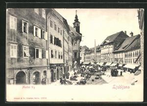 AK Ljubljana / Laibach, Mestni trg