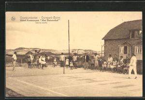 AK Oostduinkerke, Duinpark-Bains, Hotel-Restaurant Het Duinenhof