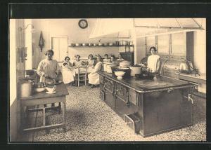 AK Anvers, Assistance publique - Maternité, Cuisine