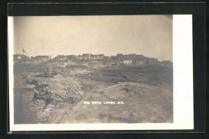 AK Laguna, NM, Blick auf die Ortschaft