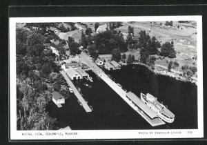 AK Beaumaris, Muskoka, Aerial View, Fliegeraufnahme