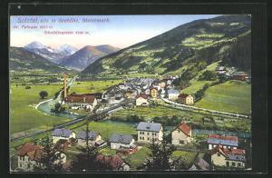 AK Selztal, Ortsansicht mit Gr. Pyhrgas und Scheiblingstein