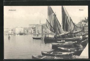 AK Pirano, Porto, Hafenpartie