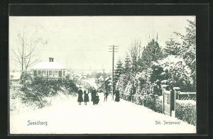 AK Svendborg, Sct. Jörgensvej, Winterpartie
