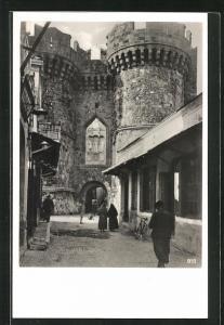 AK Rhodos, Partie am alten Stadttor