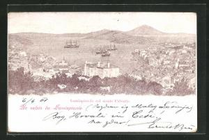 AK Lussinpiccolo, Lussinpiccolo col monte Calvario