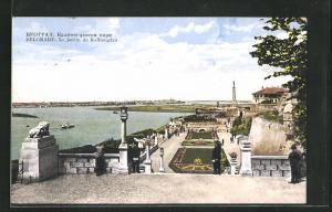 AK Belgrade, Le jardin de Kalimegdan