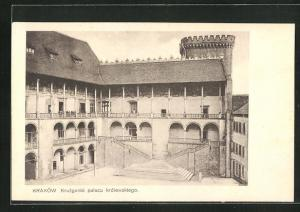 AK Krakau-Krakow, Kruzganki palacu kròlewskiego