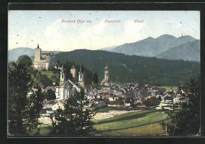 AK Bruneck, Ortsansicht mit Pustertal