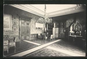 AK Bad Ischl, Kaiser Villa, Innenansicht