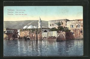 AK Tiberias, Blick vom See