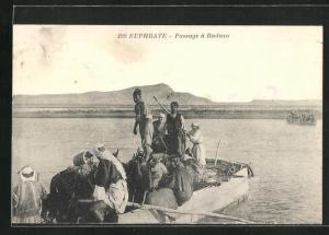 AK Euphrate, Passage a Radeau