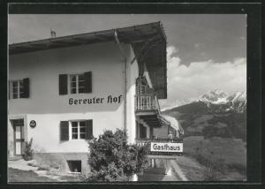 AK Kuens, Gasthaus-Pension Gereiter Hof