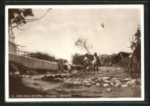 AK Dire-Daua, Villagio Indigeno, Dorfpartie