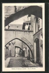 AK Bolzano vecchio, Via D. Streiter