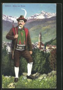 AK Meran, Jäger und Teilansicht