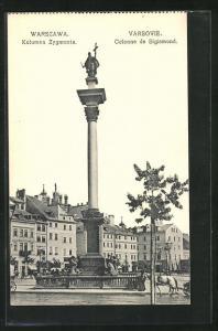 AK Warschau-Warszawa, Kolumna Zygmunta, Colonne de Sigismond