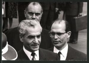 Fotografie Schah Mohammad Reza Pahlavi von Persien