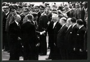 Fotografie US Präsident John F. Kennedy & Bundeskanzler Konrad Adenauer