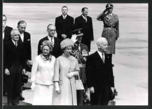 Fotografie Königin Elisabeth II. von England beim Staatsbesuch in Deutschland