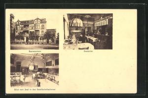 AK Wilhelmshaven, Ansichten vom Beamtenheim, Wallstrasse 21