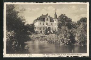 AK Bad Zwischenahn / Oldbg., Dr. Wisser-Sanatorium für Herzkrankheiten