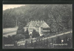 AK Gandersheim, Kurhotel Wilhelm Augusta Stift