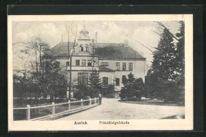AK Aurich, Blick zum Präsidialgebäude