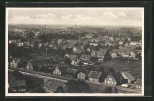 AK Leer, Blick über die Dächer der Stadt