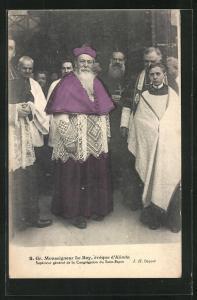 AK S. Gr. Monseigneur Le Roy, évêque d`Alinda, Bischof