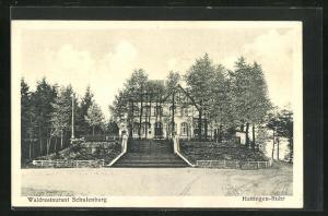 AK Hattingen a. d. Ruhr, Waldrestaurant Schulenburg
