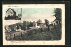 AK Alferzhagen, Ortspartie, Schule zu Alferzhagen