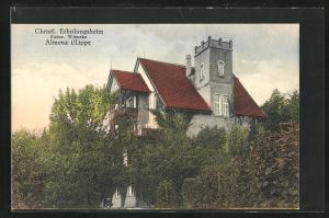 AK Almena / Lippe, Christliches Erholungsheim
