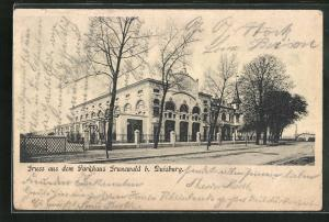 AK Duisburg, Gasthof Parkhaus Grunewald