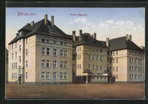 AK Düren / Rhld., Ansicht der neuen Kaserne