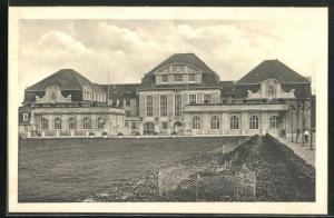 AK Halberstadt, Das städtische Kaiserin Auguste Viktoria-Lyzeum am Bismarckplatz
