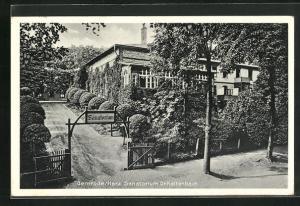 AK Gernrode / Harz, Kurhotel Sanatorium Dr. Kaltenbach