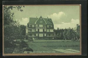 AK Benneckenstein / Harz, Hotel Kurhaus Tannenwald, Christliches Hospiz
