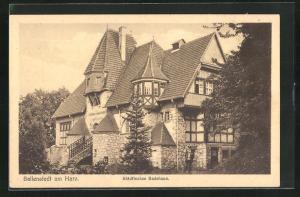 AK Ballenstedt a. Harz, Städtisches Badehaus