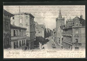 AK Aschersleben, Blick in die Breitestrasse