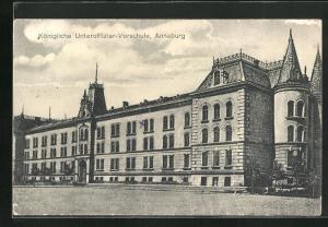 AK Annaburg, Königliche Unteroffizier-Vorschule