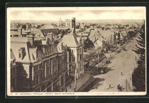 AK Perth, St. Georges Terrace, Strassenpartie