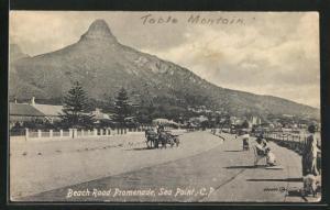 AK Sea Point, People on Beach Road Promande