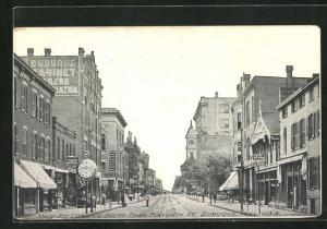 AK Dubuque, IA, Main Street looking South from Eleventh Street