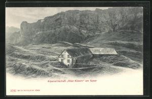 AK Oberkäsern / SG, Alpenwirtschaft am Speer