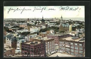 AK Milwaukee, WI, Panoramic View