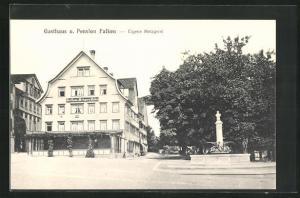 AK Rorschach, Gasthaus und Pension Falken