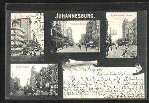 AK Johannesburg, Pritchard Street, Commissioner Street, Rissik Street